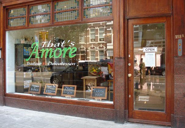 Winkel that 39 s amore den haag italian places for Reiswinkel den haag